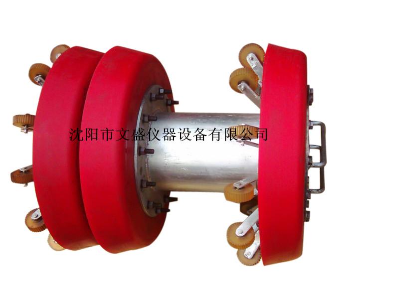 支撑轮式清管器