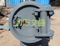 Large aperture high pressure fast opening blind plate has been achieved localization